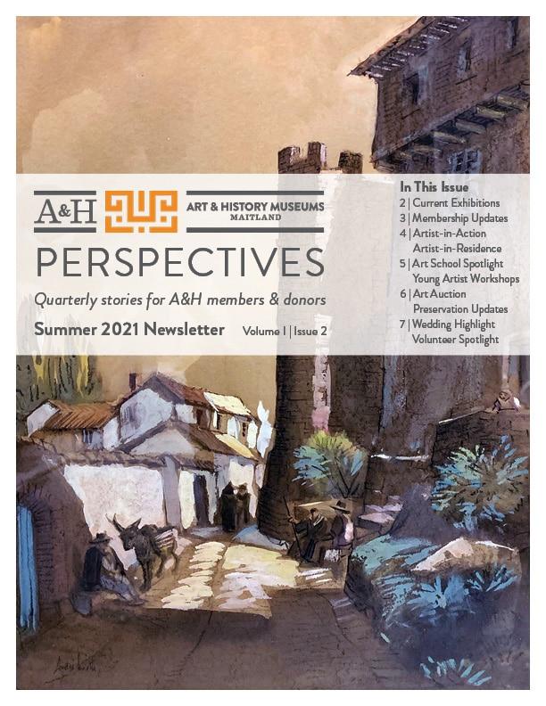 Member newsletter-Summer 2021 cover